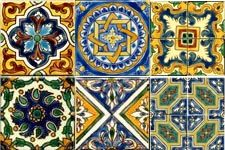 Wide Spanish, Mexican, African, Moorish, Italian, and Southwestern tile collection.