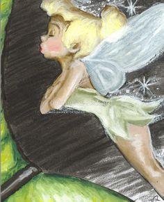 *TINKERBELL ~ Peter Pan, 1953....by Douglas Rickard - Peter Pan
