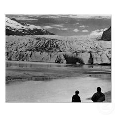 Buy purchase digital photography photograph photo picture image print 1970s 1970 download file antique old vintage archive historic historical hight resolution bw black white stock collection licence royalty free RF America USA Alaska Mendenhall glacier Juneau $3.95