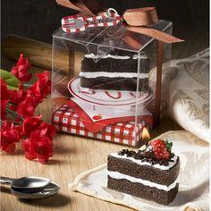 Chocolate Cake Candle
