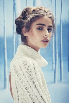 The Love & Lemons Holiday Campaign Stars a Romantic Taylor Hill #photography trendhunter.com