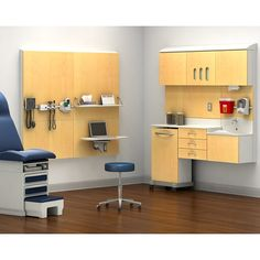 Compass System - Herman Miller. Exam rooms