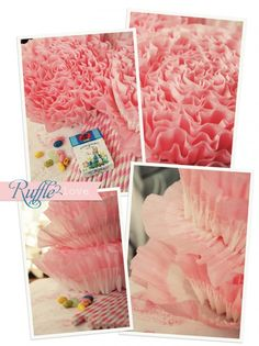 Learn how to Ruffle Crepe Paper.. perfect for Valentine's Day Crafts!