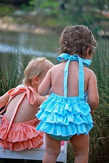 """""""2 Giggle Boxes""""  blog with tones of tutorials and patterns for making little girls' clothes and stuff"""
