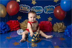 Little Prince Cake Smash | CT Smash the cake photographer | Luciene Pestana Photography | West Hartford CT_0090.jpg