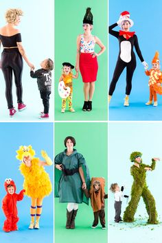 6 of the Sweetest Mom + Toddler Halloween Costumes You Can Buy and DIY via Brit + Co