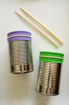 DIY Instruments Drums