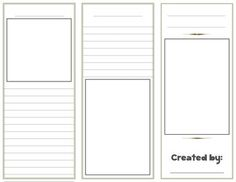 brochure rubric template - rubrics and brochures on pinterest