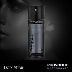 Provogue's Dark Affair deo is the scent for the person who wants to add a little mystery to their persona and leave people mesmerized with their presence.