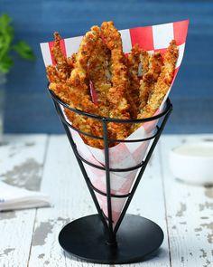 Garlic Parm Chicken Fries