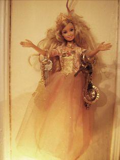 Repurposed Barbie Glamper Key holder