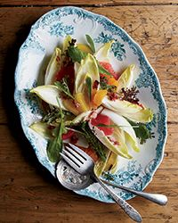 The happy surprises in this juicy citrus salad from chef Erin French are the aromatic tarragon and the warm bacon dressing.  Slideshow: More Warm Winter Salad Recipes
