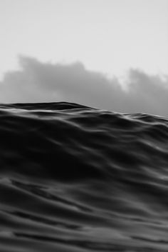 Kalle Lundholm Photography - NO ADDED LIGHT - EAU NOIRE (black water) Photo session in the ocean at Coolangatta, Queensland, Australia. Black & White, Travel, Waves, Oceanphotography, Ambient, Landscape.