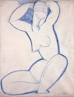 nude life drawing modigliani - Google Search