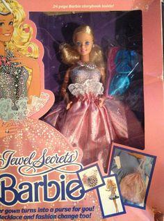 Vintage 1986 Jewel Secrets Barbie
