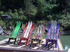 Un amusant et étonnant fauteuil Ski d'éclissage