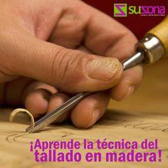 Te traemos un buen tutorial para que aprendas la técnica del tallado en #madera.