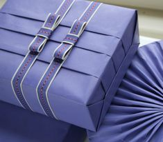 Pleated gift wrap