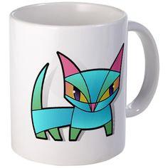 bonsai kitty  mug