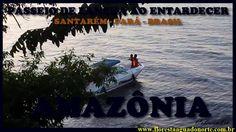 Amazônia - Santarém - Passeio de Lancha ao Entardecer - Celcoimbra - FAN