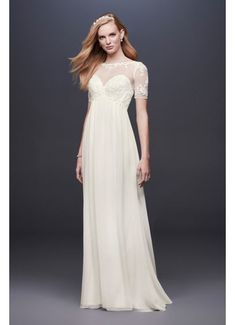 Chiffon Wedding Gowns With Sleeves - Pictures of Wedding Dress and Lipstick Chiffon Wedding Gowns, Wedding Gowns With Sleeves, Long Sleeve Wedding, Bridal Gowns, Chiffon Gown, Chiffon Fabric, Tulle Ball Gown, Ball Gowns, Wedding Dress Preservation