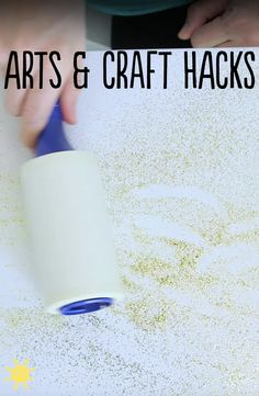 #mom #hacks #craft #glitter