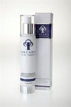 Circadia by Dr. Pugliese Nighttime Repair Plus Treatment for mature skin #CircadiabyDrPugliese