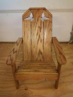 Childrenu0027s Adirondack Chair With Matching Ottoman. | Child Size Adirondack  Chair | Pinterest