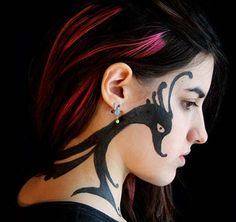 Cute Face Tattoos