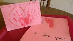 Cute Valentine gift idea for mom or dad