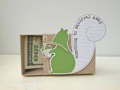 Something to Squirrel Away  Mini Money Gift Box by avecorange, $4.60