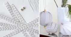 Tento šikovný DIY nápad s návodom urob si sám vám ukáže, ako jednoducho vyrobiť elegantné vianočné gule z papierových prúžkov. Vianoce, ozdoby na stromček
