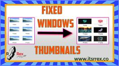 How to Fix Windows 10 Thumbnails Insted of Icon for Photos Windows 10, Photos, Pictures