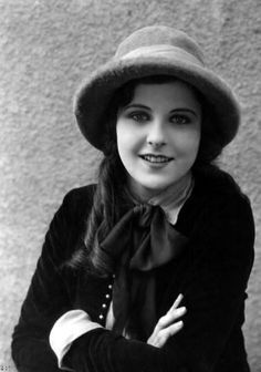 Barbara Kent, one of the stars of silent films, who performed alongside Gloria Swanson, Greta Garbo and Harold Lloyd