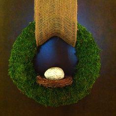 Spring wreath by Lauren