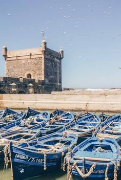 Travel to Essaouira, Morocco. 11 amazing things to do in Essaouira - Morocco's hippy hideaway. Go souk shopping, find gorgeous photography spots, stay in a riad, wander around the medina, go to a hammam and dine on the wonderful food. Click to read the full Essaouira travel guide. #travel #morocco Stuff To Do, Things To Do, Morocco Travel, Short Break, How To Be Likeable, Atlas Mountains, Marrakesh, City Break, Casablanca