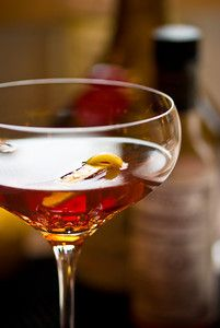 Vieux Carre, New Orleans' contribution to the Manhattan family.