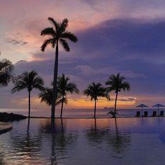 Sunset at the Palms in Flamingo, Costa Rica. I've found paradise! #costarica #puravida #sunset