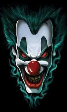 Cool Tshirt Freak Show Liquid Blue Evil Clown Dark Side Scary Scary Clown Face, Gruseliger Clown, Joker Clown, Clown Faces, Joker Art, Clown Costumes, Halloween Costumes, Evil Clowns, Scary Clowns