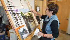 Natalie Bohnen-Twiddy is a renowned Canadian artist with her art studio located at the tett Centre located in Kingston, Ontario. Canadian Artists, Beans Recipes