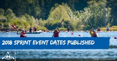 Just in time for your new calendars – here are the 2018 sprint event dates!  #CKBCevents #wepaddleBC