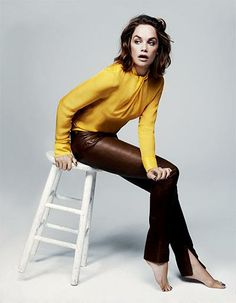 Actor Ruth Wilson stars in this week's fashion shoot Ruth Wilson, English Actresses, Actors & Actresses, Girl Celebrities, Celebs, Timeless Fashion, Love Fashion, Fashion Shoot, Janes Mansfield