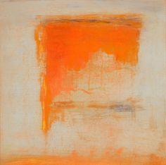 Jan Kinslowe 100807_05 FLAME VANISHING oil & wax on 12 x 12 panel