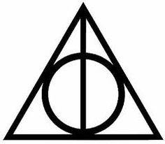 harry potter deathly hallows symbol ile ilgili görsel sonucu