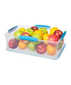 Another great find on #zulily! Blue 237-Oz. Storage Container by Sistema #zulilyfinds