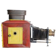 Early Ancient Camera | From a unique collection of antique and modern curiosities at https://www.1stdibs.com/furniture/more-furniture-collectibles/curiosities/