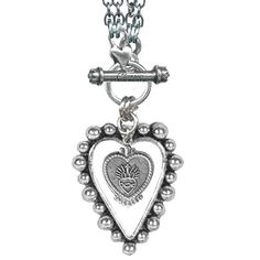 Sacred Heart Rockware 2FER Necklace by Classic Hardware