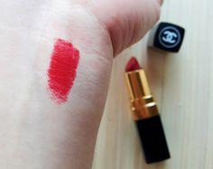 Chanel Rouge Coco Lipstick in Gabrielle   www.NinaSinganon.com