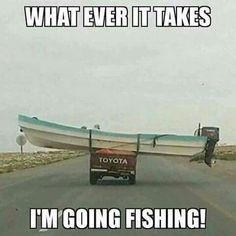 Lmao...that is how I need to transfer a boat! Time to head to the water today!