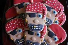 Pirate Cookies by TheCreativeCookie on Etsy